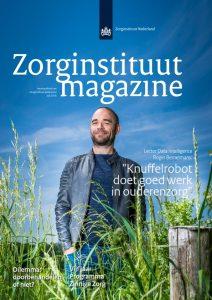 Cover Zorginstituut Magazine juli 2018