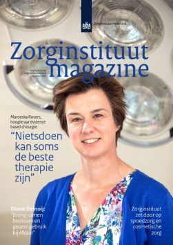 Cover Zorginstituut Magazine november 2019