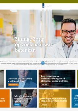 Cover e-zine Zinnige Zorg